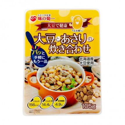 [旧]大豆とあさりの炊き合わせ