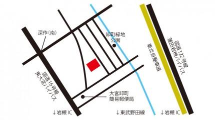 菊池食品工業株式会社商品センターの地図