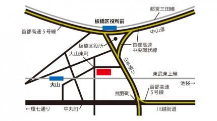 菊池食品工業株式会社本社の地図
