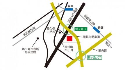菊池食品工業株式会社埼玉工場の地図
